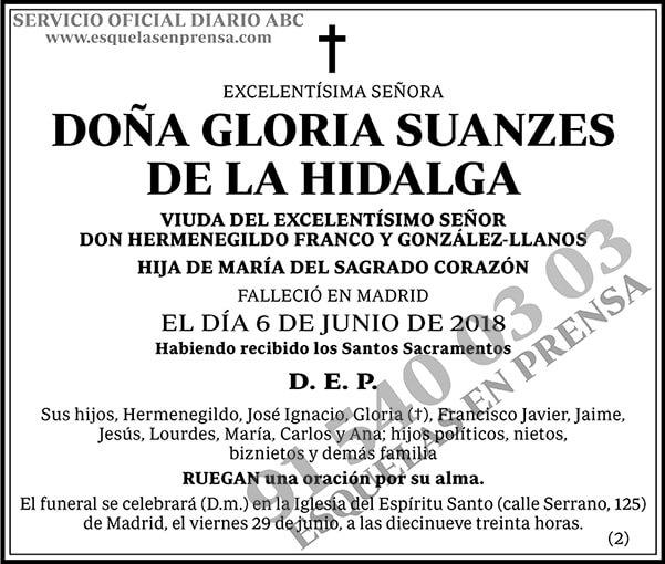 Gloria Suanzes de la Hidalga